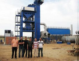 LB1000 Asphalt Plant Installed in Uzbekistan