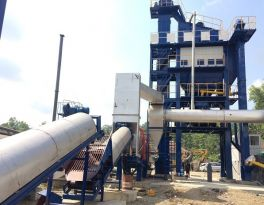 Recently one set of LB1500 Asphalt Mixing Plant Installed in Indonesia Successfully
