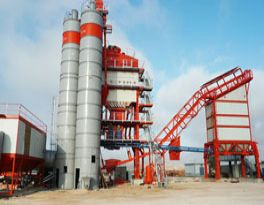 Working principle of electric control system of asphalt mixing plant
