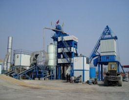 Introduction of heavy oil for asphalt mixing plant