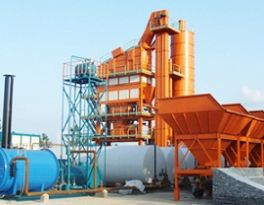 Some problems in domestic asphalt batching plant need to be improved