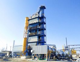 240TPH Asphalt Mixing Plant Running Smoothly in Uzbekistan