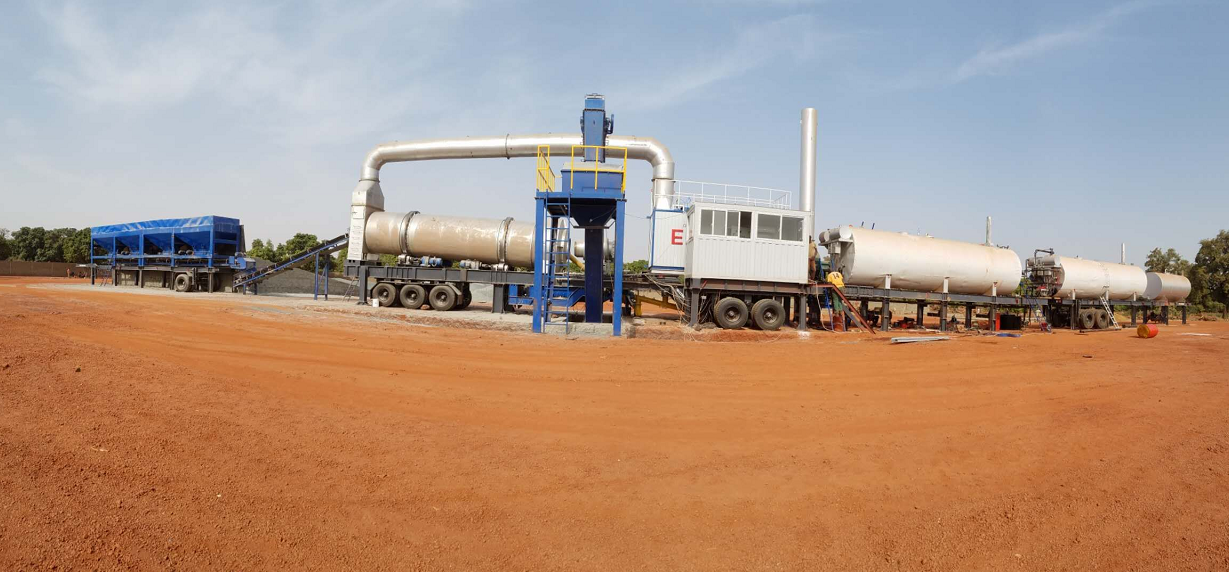 Asphalt Mixing Plant delivery to Mali in Africa