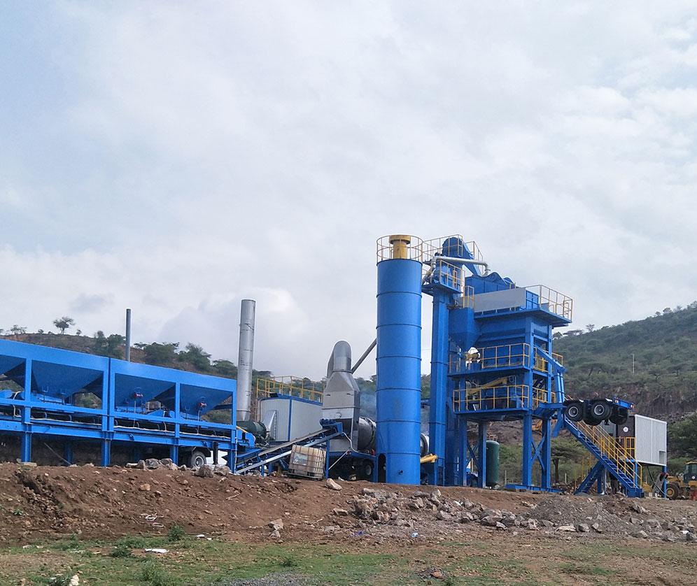 YLB1000 asphalt mixing plant
