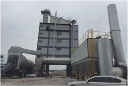 Simple introduction of asphalt mixing plant