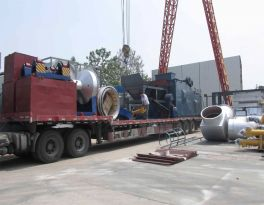 Delivery of one set LB3000 asphalt mixing plant