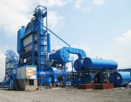 Asphalt mixing equipment development and state
