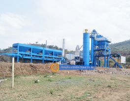 Features of YLB mobile asphalt mixing plant