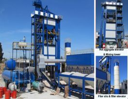 Using and Construction of Asphalt Mixing Plant