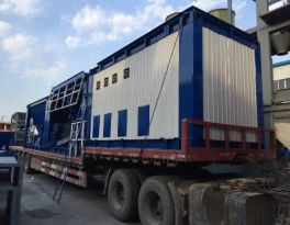 One set LB500 asphalt mixing plant delivered to Middle Asia