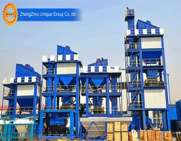 What are the application advantages of asphalt mixing plants?
